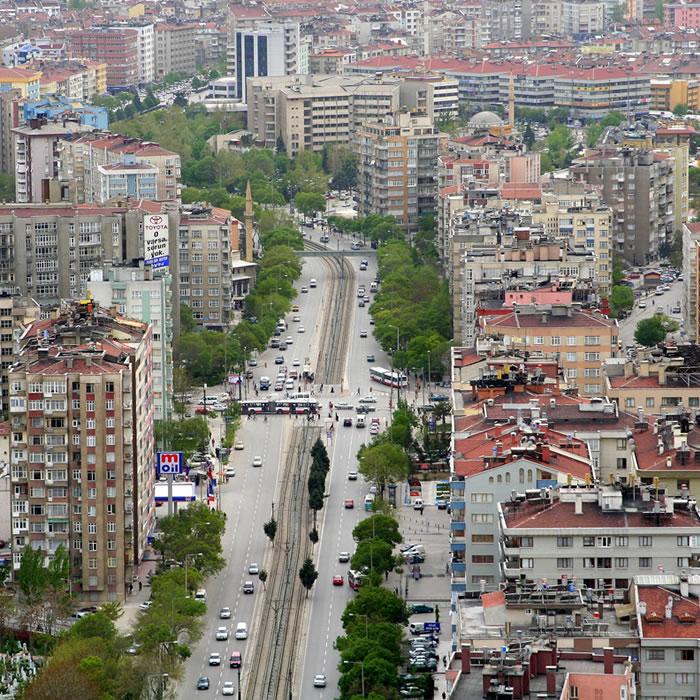 Konya İlahiyat Cd. Taksi