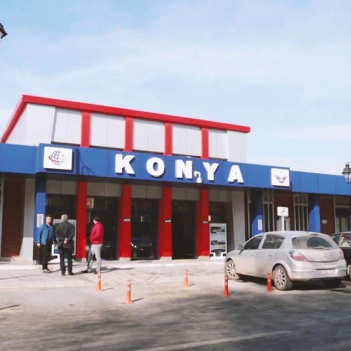 Konya İsmail Kaya Cd. Taksi